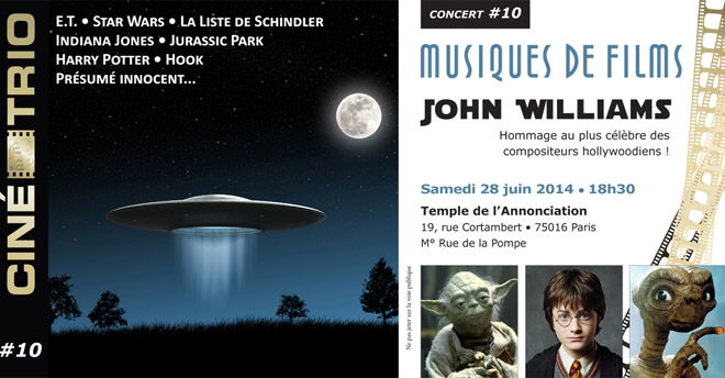 Flyer 10 - Juin 2014 - John Williams - 1200px