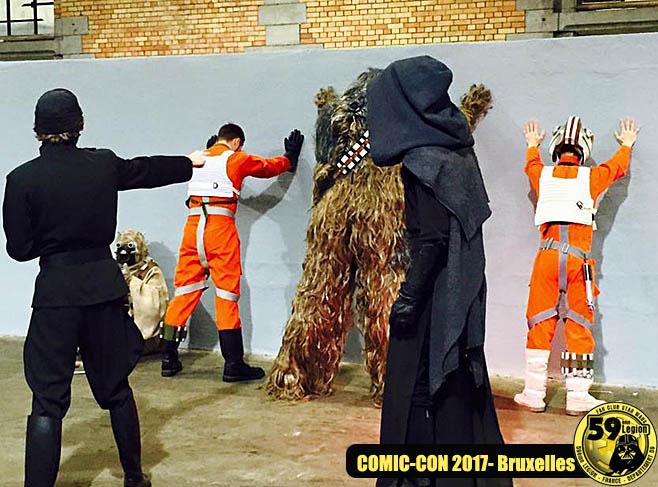 Comic Con Bruxelles 2017